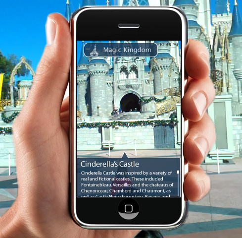 Magic Vision where Augmented Reality meets Disney Theme Parks